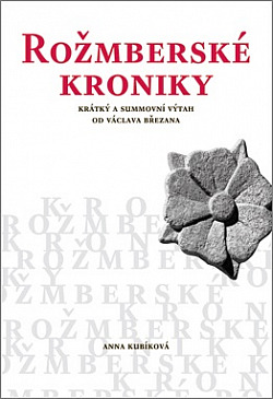 Rožmberské kroniky obálka knihy