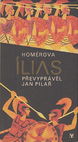 Homérova Ílias obálka knihy