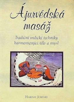 Ájurvédská masáž obálka knihy