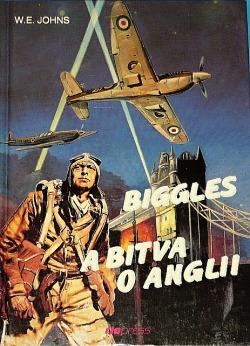 Biggles a bitva o Anglii obálka knihy