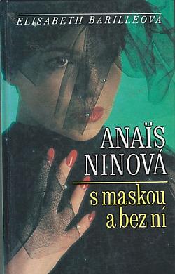 Anaïs Ninová s maskou a bez ní obálka knihy