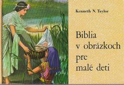 Biblia v obrázkoch pre malé deti obálka knihy