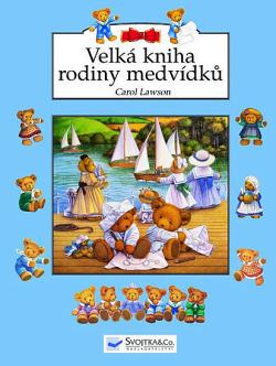 Velká kniha rodiny medvídků obálka knihy