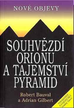 Souhvězdí Orionu a tajemství pyramid obálka knihy