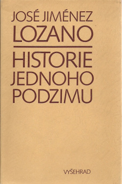 Historie jednoho podzimu obálka knihy