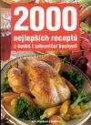 2000 nejlepších receptů z české i zahraniční kuchyně obálka knihy