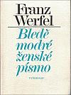 Bledě modré ženské písmo