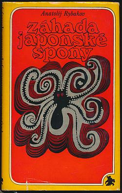 Záhada japonské spony obálka knihy