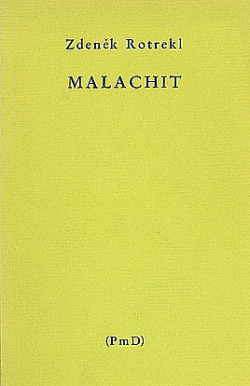 Malachit: Výbor veršů z let 1952 až 1968 obálka knihy