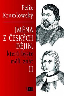 Jména z českých dějin, která byste měli znát II. obálka knihy