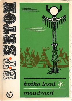 Kniha lesní moudrosti obálka knihy