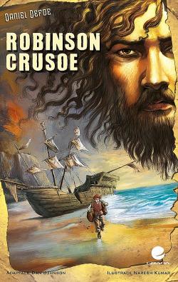 Robinson Crusoe (komiks) obálka knihy