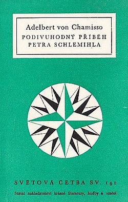 Podivuhodný příběh Petra Schlemihla obálka knihy
