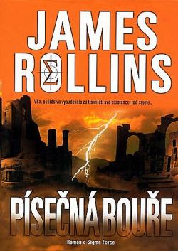 Písečná bouře obálka knihy
