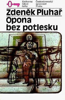 Opona bez potlesku obálka knihy