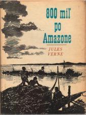 Obálka knihy 800 míľ po Amazone