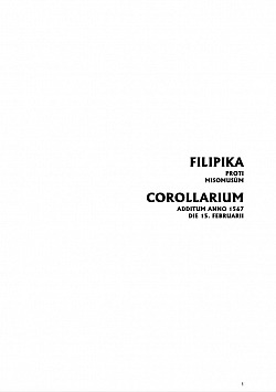 Filipika proti misomusům obálka knihy