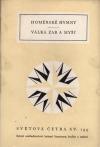 Homérské hymny / Válka žab a myší obálka knihy
