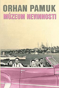 Múzeum nevinnosti obálka knihy