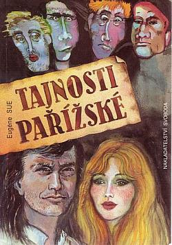 Tajnosti pařížské obálka knihy
