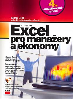Microsoft Excel pro manažery a ekonomy obálka knihy
