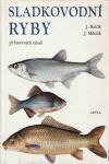 Sladkovodní ryby obálka knihy