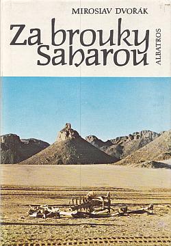 Za brouky Saharou obálka knihy