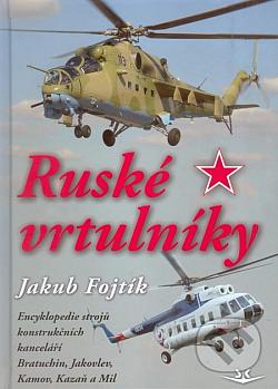 Ruské vrtulníky obálka knihy
