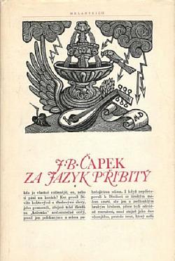 Za jazyk přibitý obálka knihy