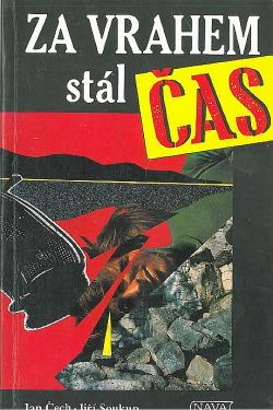 Za vrahem stál čas obálka knihy