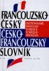 Francouzsko-český, česko-francouzský slovník obálka knihy