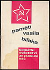 Paměti Vasila Biľaka (1.díl)