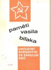 Paměti Vasila Biľaka (2.díl)