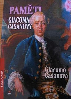 Paměti Giacoma Casanovy obálka knihy