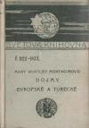 Dojmy evropské a turecké obálka knihy