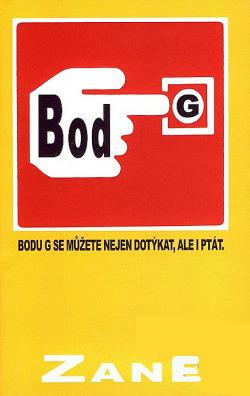 Bod G obálka knihy