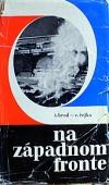 Na západnom fronte obálka knihy