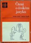 Čtení o českém jazyku