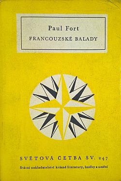Francouzské balady obálka knihy