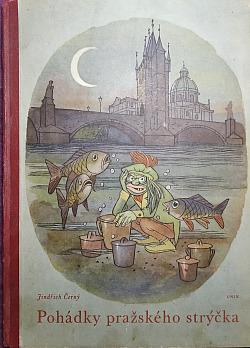 Pohádky pražského strýčka obálka knihy