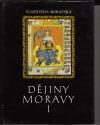 Dějiny Moravy díl 1.  Středověká Morava obálka knihy