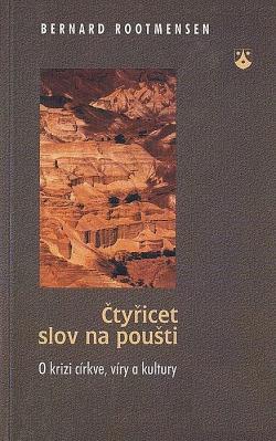 Čtyřicet slov na poušti obálka knihy