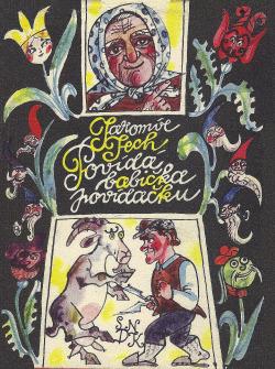 Povídá babička povídačku obálka knihy