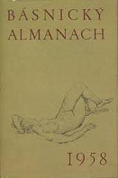 Básnický almanach 1958 obálka knihy