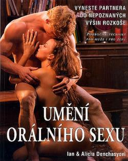 Umění orálního sexu obálka knihy