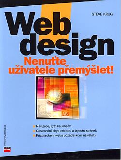 Web design: Nenuťte uživatele přemýšlet! obálka knihy