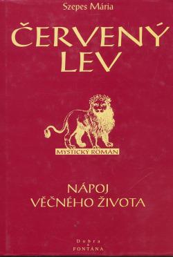Červený lev: mystický román obálka knihy
