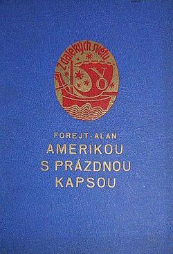 Amerikou s prázdnou kapsou obálka knihy