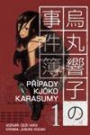 Případy Kjóko Karasumy 1 obálka knihy