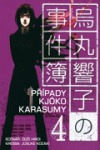 Případy Kjóko Karasumy 4 obálka knihy
